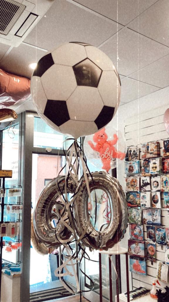 Balloo für 60 Geburtstag